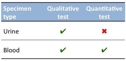 HCG test types